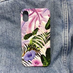iPhone XS Max Case, Tropical Hard Cover